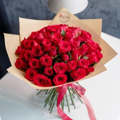 51 Trandafiri Roșii în Hârtie