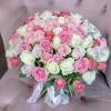 Trandafiri Mix Roz 101 buc