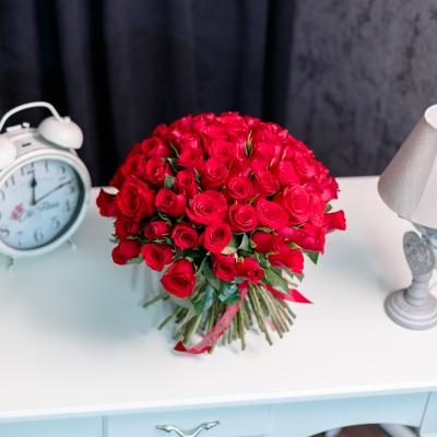 Trandafiri Roșii 30-40 cm 101 buc