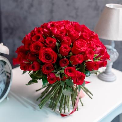 Trandafiri Roșii 101 buc