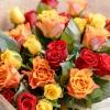 25 Trandafiri Mix Orange