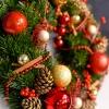 Cunună de Crăciun Roșie