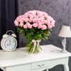 Trandafiri Roz 70 cm 101 buc