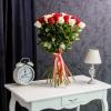 Trandafiri Alb-Roșu