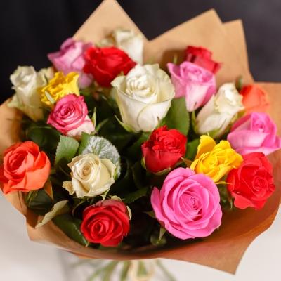19 Trandafiri mix