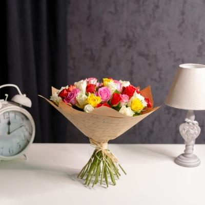 "35 Trandafiri mix ""Olanda"" 30-40cm"
