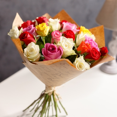 "25 Trandafiri mix ""Olanda"" 30-40cm"
