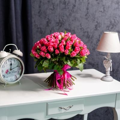 101 Trandafiri Fuchsia 30-40 cm