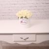 Trandafiri Albi în Cutie