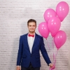 5 Baloane roz cu heliu