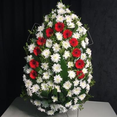 Coroană funerară Nr. 6