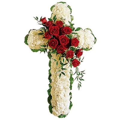 Cruce Funerară din Flori Nr. 4