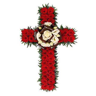 Cruce Funerară din Flori Nr. 5