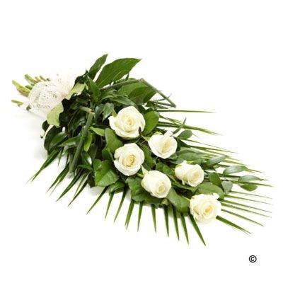 Buchet alb funerar