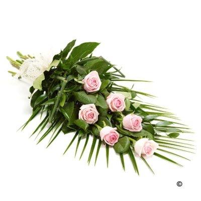 Buchet funerar roz
