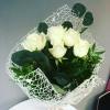 Buchet din 5 Trandafiri albi