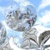 Set din Baloane Argintii