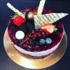 Tort chessecake cu afine