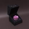 Trandafir Criogenat Mov în Cutiuță de Catifea