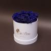 Trandafiri Albaștri în Cutie de Lux