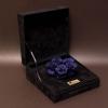 5 Trandafiri Criogenați Albaștri în Cutie de Catifea
