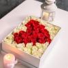 Cutie cu Inimă din Trandafiri