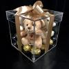 Cutie Acrilică cu Ursuleți și Ferrero Rocher