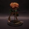 Trandafir Criogenat Golden Mare în Cupolă