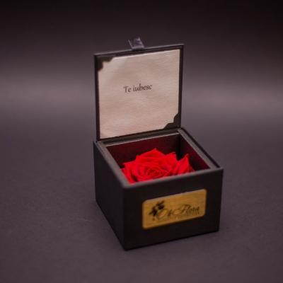 """Trandafir Criogenat Roșu """"Te iubesc"""""""