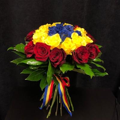 Buchet Tricolor