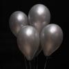 5 Baloane Argintii cu Heliu