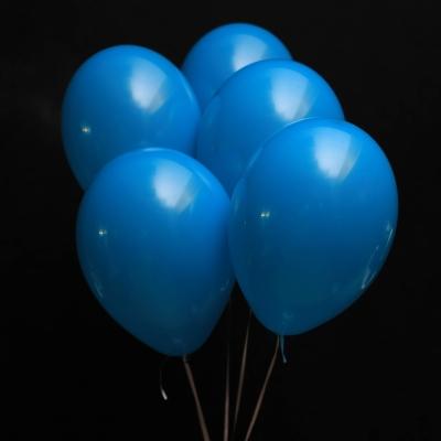 5 Baloane Albastre cu Heliu