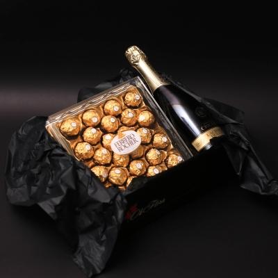 Set Cutie cu Ferrero Rocher și Spumant Lacrima Dulce