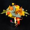 Aranjament Galben-Orange cu Flori Mixte
