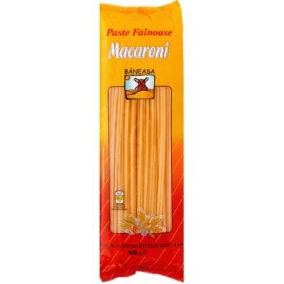 Paste fainoase Macaroni 500g Baneasa