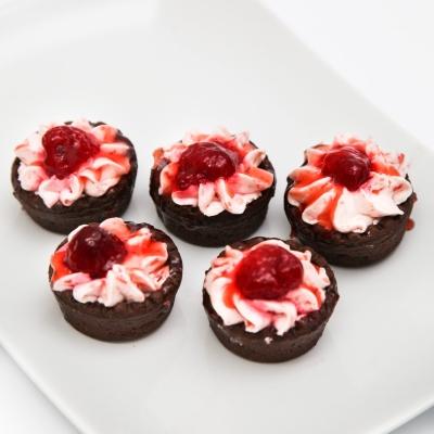 Mini tarte cu capsuni