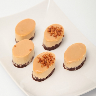 Mini mousse caramel