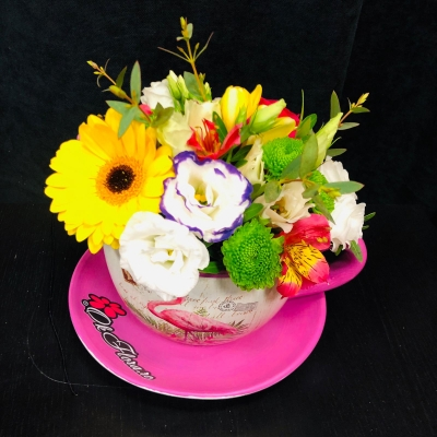 Flori Mixte in cana