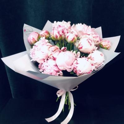 Buchet din Bujori Roz