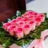 Lădiță Medie cu Trandafiri Roz
