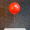 Balon Rosu mare cu heliu