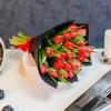 Buchet special Nr 10 din 25 lalele rosii